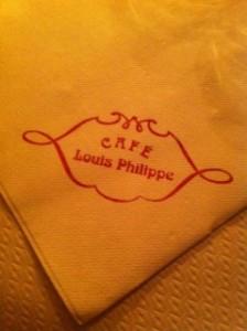 店の名前は「キャフェ・ルイ・フィリップ」